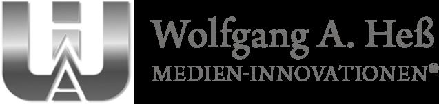 Wolfgang A. Heß Medien-Innovationen®  I  Projekte - Training - Personal für innovative Medien  I  www.wolfganghess.com